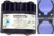 "AQUATEC PAM1000 PERMEATE PUMP W/Clips + W-1/4"" JG INSERTS FOR USE W/ 100 GPD MEMBRANES (PAM1000)"