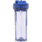 Pentek 1/4 inch No 10 Slim Line Clear/Blue wo/pr